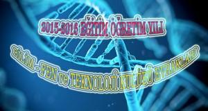 Bilim-Fen ve Teknoloji Kulübü 2015-2016 Evraklar