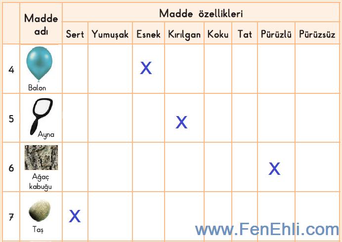 3. Sınıf Fen Bilimleri İpekyolu Yayınları 52. Sayfa Cevapları-1