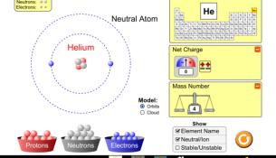 Atom Modelleri Simülasyonları
