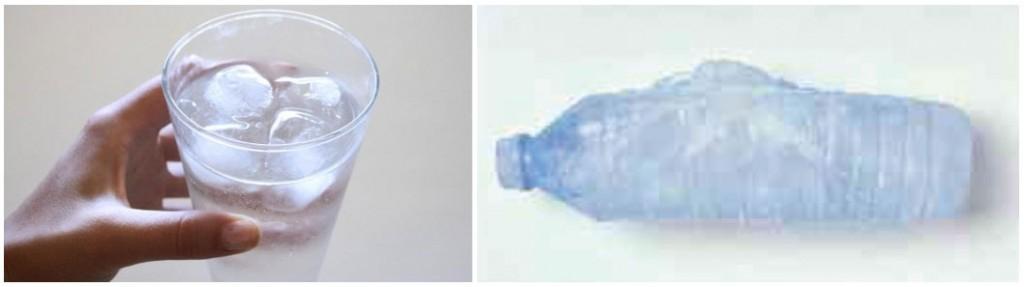 Buz Suda Yüzer-Donan Şişe Patlar