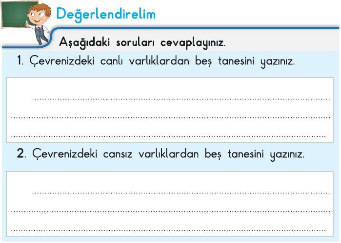 3. Sınıf Fen Bilimleri İpekyolu Değerlendirelim Cevapları-100