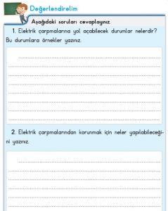 3. Sınıf Fen Bilimleri İpekyolu Değerlendirelim Cevapları-145