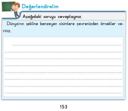 3. Sınıf Fen Bilimleri İpekyolu Değerlendirelim Cevapları-153