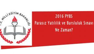 2016 PYBS Ne Zaman