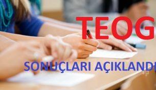 TEOG Sınavı Sonuçları Açıklandı